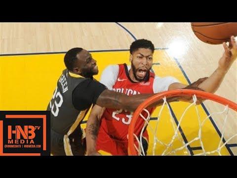 Golden State Warriors vs New Orleans Pelicans Full Game Highlights / April 7 / 2017 -18 NBA Season (видео)