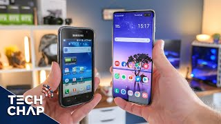 Galaxy S1 vs S10 Plus - 9 YEARS LATER! 😮   The Tech Chap