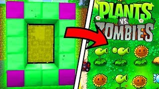 Video HOW TO MAKE A PORTAL TO THE PLANTS VS ZOMBIES DIMENSION IN MINECRAFT POCKET EDITION! MP3, 3GP, MP4, WEBM, AVI, FLV Juni 2019
