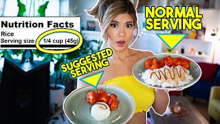Video Only Eating Recommended Serving Sizes For A Day MP3, 3GP, MP4, WEBM, AVI, FLV Juli 2019