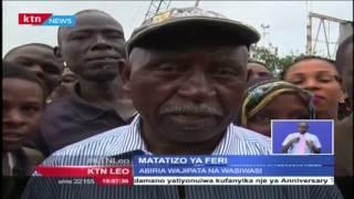 Abiria Waingiwa Na Wasiwasi Baada Ya Feri Kupata Matatizo Safarini