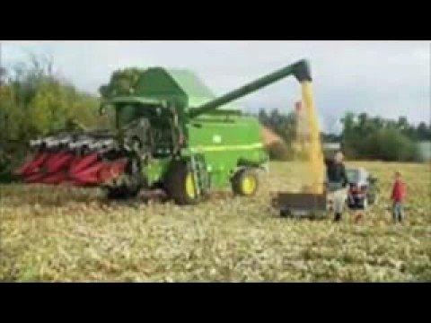 John Deere Tractors Stuck