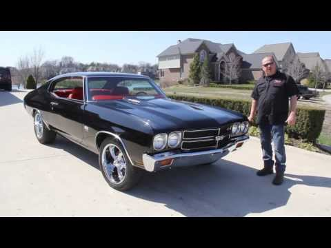 Video 1970 chevrolet chevelle classic muscle car for sale for Vanguard motors for sale