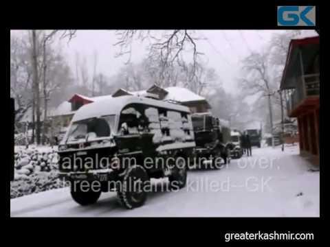 Pahalgam encounter over; three militants killed