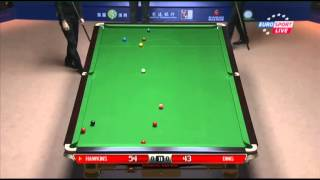 Ding Junhui - Barry Hawkins (Frame 1) Snooker Shanghai Masters 2013 - Semi Final