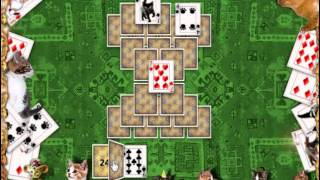 Kitty Tripeaks Solitaire Game YouTube video