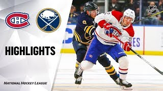 Canadiens @ Sabres 10/9/19 Highlights