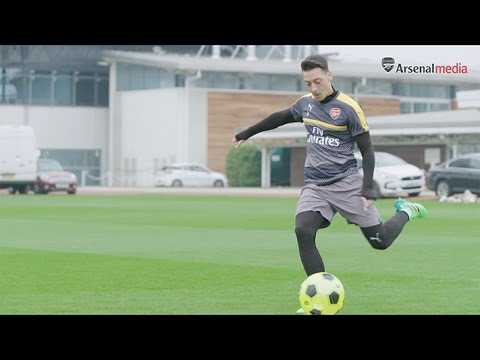 Mesut Ozil presents the toughest crossbar challenge yet