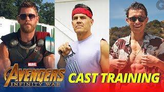 Video Avengers: Infinity War Cast TRAINING WORKOUT - Part 1 MP3, 3GP, MP4, WEBM, AVI, FLV Juni 2019