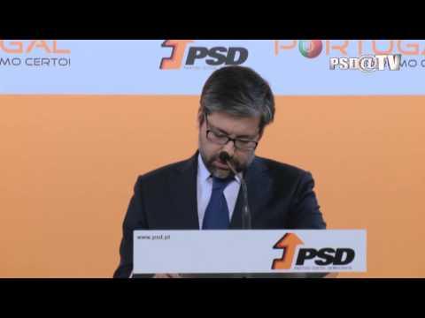 Conferência de Imprensa de Marco António Costa