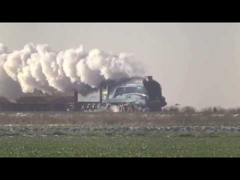 2014 review of mainline steam in the UK