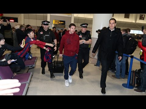 FC Barcelona's trip to Manchester