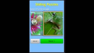 Sliding Puzzles YouTube video