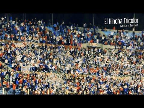 RECIBIMIENTO | Nacional vs River - Copa Libertadores 2016 - La Banda del Parque - Nacional