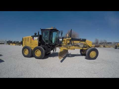 CATERPILLAR MOTOR GRADERS 12M2AWD equipment video 3ezE9YgUtaI