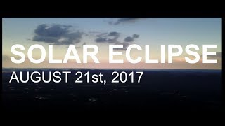 SOLAR ECLIPSE 2017 Nashville, TN ------------------ GEAR: Canon Rebel T6i DJI Mavic Pro ------------------ On this Monday, August ...