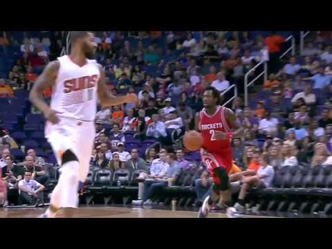 NBA Highlights: Rockets @ Suns 10/13/2015