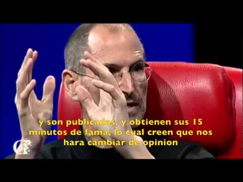 jobs - Video completo de la entrevista a Steve Jobs en ATD en 2010. mas vídeos mios de Steve Jobs en este playlist https://www.youtube.com/playlist?list=PLcnzbljy9C...
