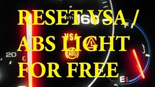 8. (BEST METHOD) Acura & Honda  - How to Reset ABS Light VSA Light FREE