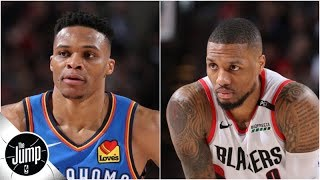 Who'd you rather build around: Russell Westbrook or Damian Lillard? | The Jump