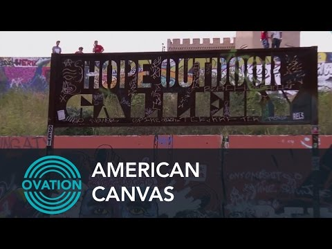 American Canvas - Hope Outdoor Gallery for Graffiti Artists (Preview)