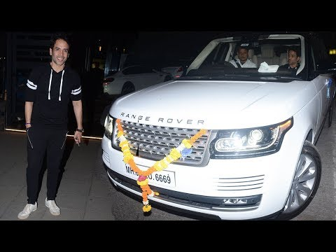 Tusshar Kapoor Spotted With His Brand New Luxury S