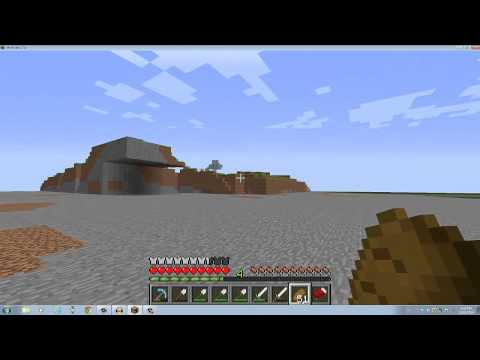 Minecraft (Largest quarry of all time) update 5 - Mountainless! (видео)