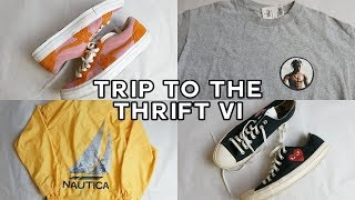 TRIP TO THE THRIFT #6 | Golf le Fleurs, CDG Converse, Travis Scott