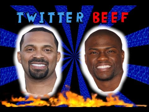 Twitter Comedy Beef: Mike Epps & Kevin Hart Exchange Insults