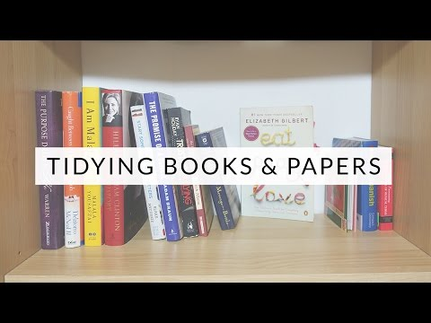Tidying with KonMari: Books & Papers | Marie Kondo & The Life-Changing Magic of Tidying Up