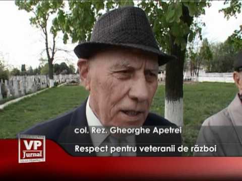 Respect pentru veteranii de război