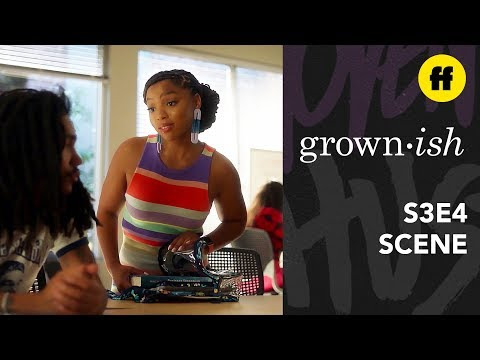 grown-ish Season 3, Episode 4   Jazz Convinces Luca To Text Zoey   Freeform