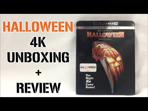 HALLOWEEN (1978) 4K Blu-ray Unboxing + Review