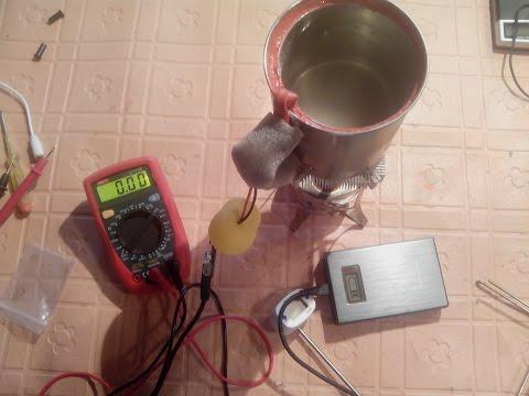 Термогенератор своими руками