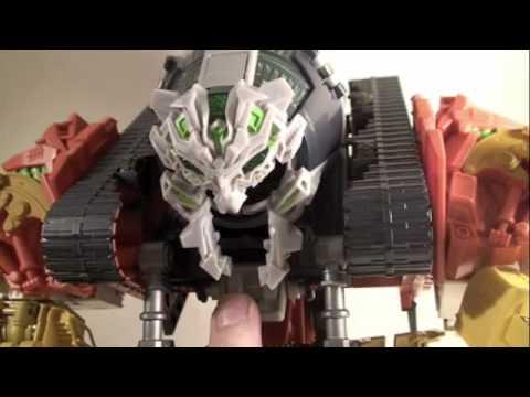 Transformers 2 ROTF Movie Supreme Devastator Constructicons Review