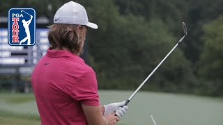 Tommy Fleetwood's pre-round warm-up routine by PGA TOUR