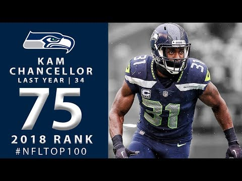 #75: Kam Chancellor (S, Seahawks) | Top 100 Players of 2018 | NFL (видео)