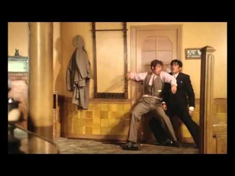 Alain Delon vs Jean-Paul Belmondo (Borsalino)