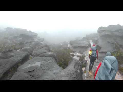 Topo inóspito do Monte Roraima