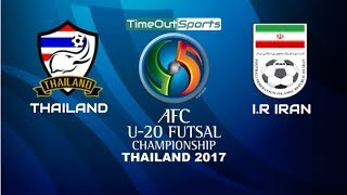 Video Thailand vs I.R Iran (5-7) Goals | AFC U20 Futsal Championship 2017 MP3, 3GP, MP4, WEBM, AVI, FLV Februari 2018