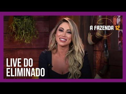 #LiveDoEliminado | Carol Narizinho comenta as polêmicas de #AFazenda12