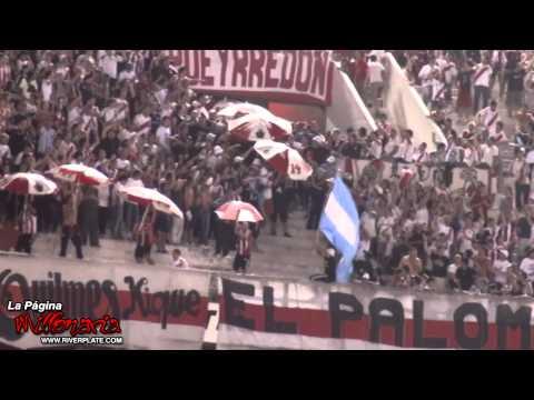 Ahi viene la hinchada - River vs Patronato - Los Borrachos del Tablón - River Plate - Argentina - América del Sur