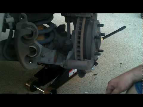HOW TO REPLACE 1998-2005 CHEVY  GM / BLAZER / JIMMY / BRAVADA /  FRONT WHEEL BEARING HUB / SHOUT OUT