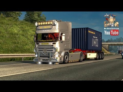 Scania So Pretty B8 v2.0 + DLC 1.23.x - 1.23.3.1s