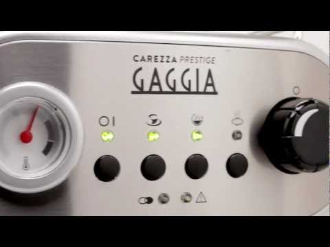 The Gaggia Carezza