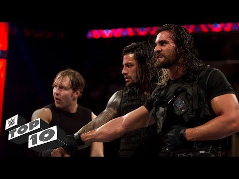 The Shield's coolest moments: WWE Top 10, Oct. 14, 2017 (видео)
