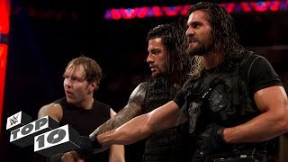 Video The Shield's coolest moments: WWE Top 10, Oct. 14, 2017 MP3, 3GP, MP4, WEBM, AVI, FLV Juli 2018