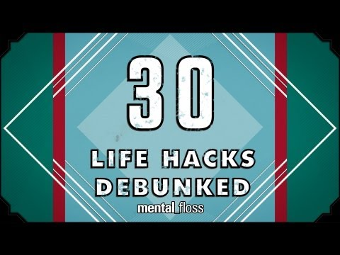 hacks - A weekly show where knowledge junkies get their fix of trivia-tastic information. For our 30TH EPISODE!!, John tests 30