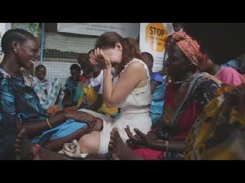 South Sudan: actress Ashley Judd, UNFPA repair fistula while helping women speak up