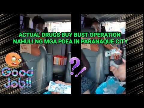 FULL VIDEO THE ACTUAL DRUGS BUY BUST OPERATION IN PARANAQUE CITY